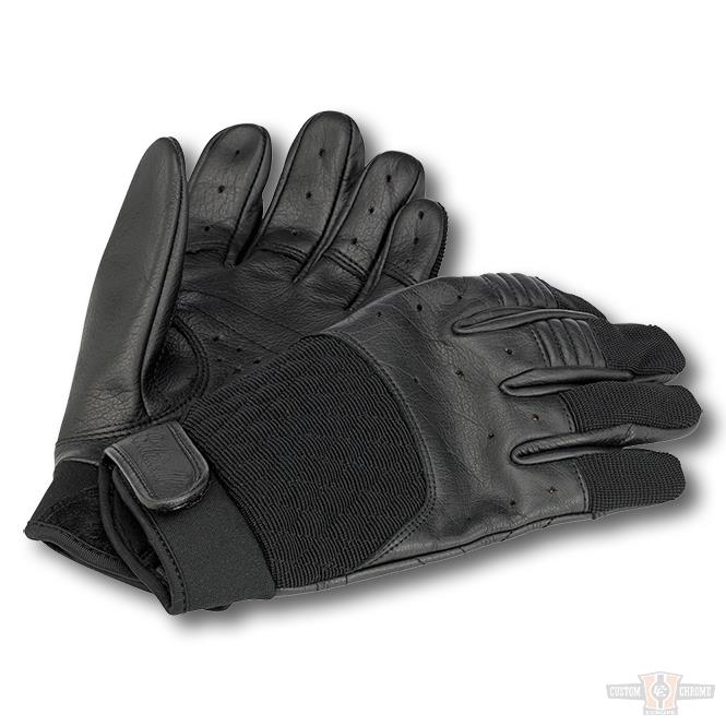 gants biltwell bantam gloves black pi ces et accessoires harley davidson esprit custom. Black Bedroom Furniture Sets. Home Design Ideas