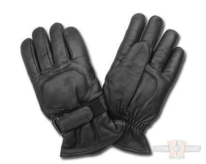 Gants AL63 Cuir Gloves Black