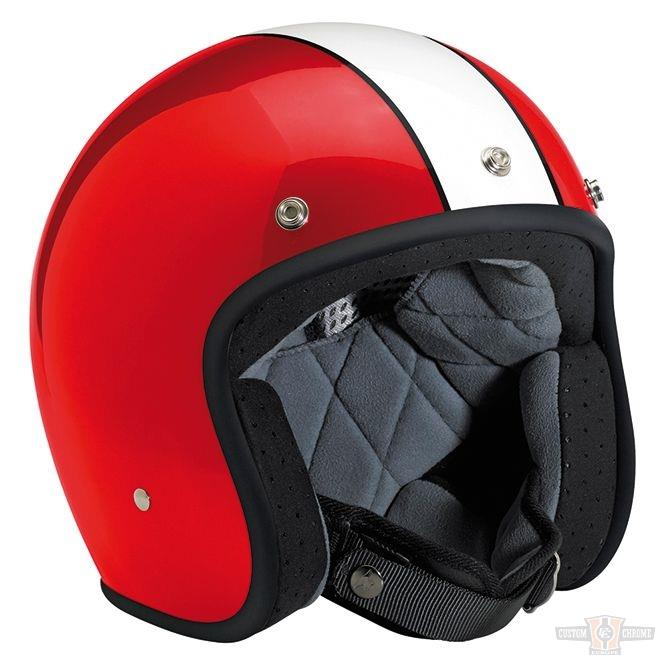 Casque Biltwell Bonanza Limited Edition Racer Red/White
