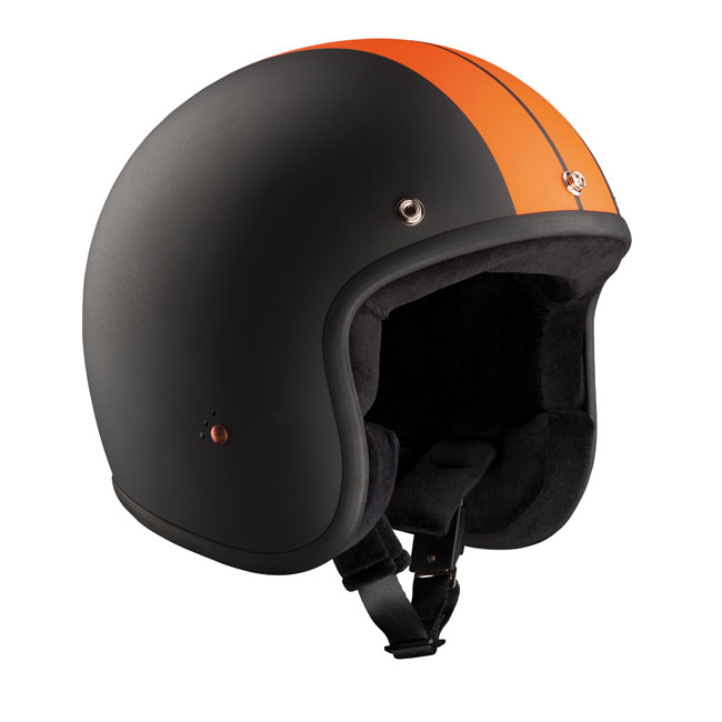 CASQUE BANDIT JET RACE BLACK/ORANGE