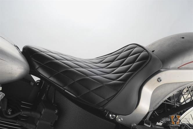 selle solo le pera diamond dyna 06 15 pi ces et accessoires harley davidson esprit custom. Black Bedroom Furniture Sets. Home Design Ideas