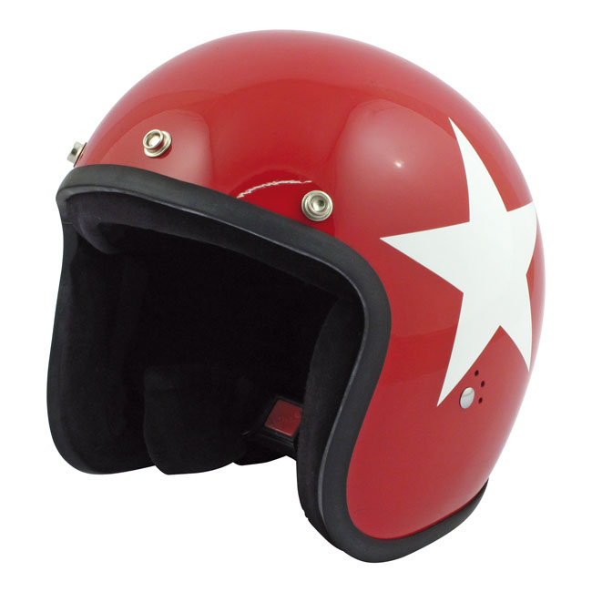 CASQUE BANDIT STAR JET RED/WHITE