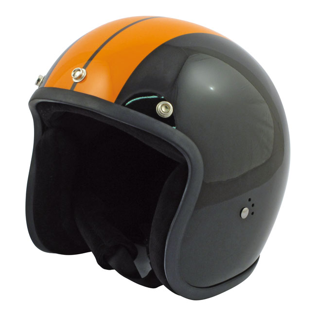CASQUE BANDIT BLACK/ORANGE