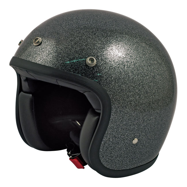 CASQUE DMD VINTAGE GLITTER BLACK