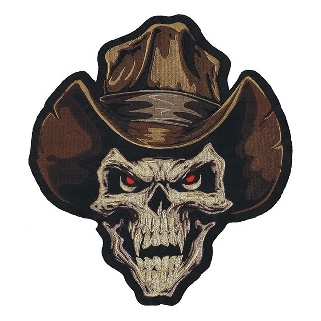PATCH COWBOY SKULL