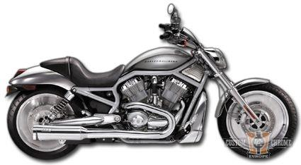 ECHAPPEMENT SUPERTRAPP V-ROD CANISTER EXHAUST