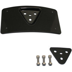 MOUNT PLATE LICENSE RADIUS BLACK