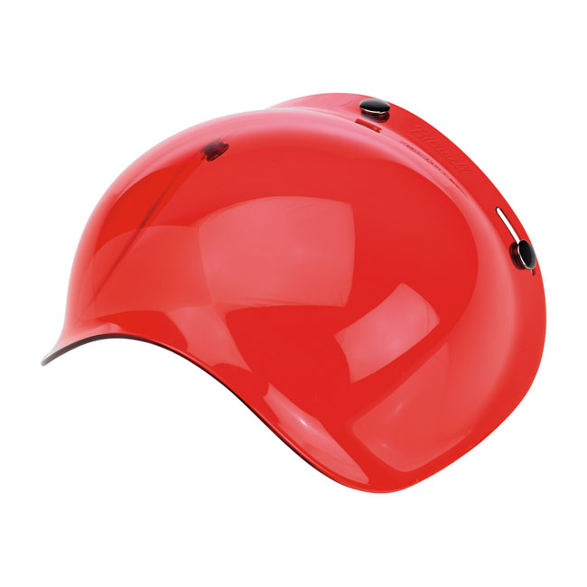 BILTWELL BUBBLE VISOR, ROSE SOLID