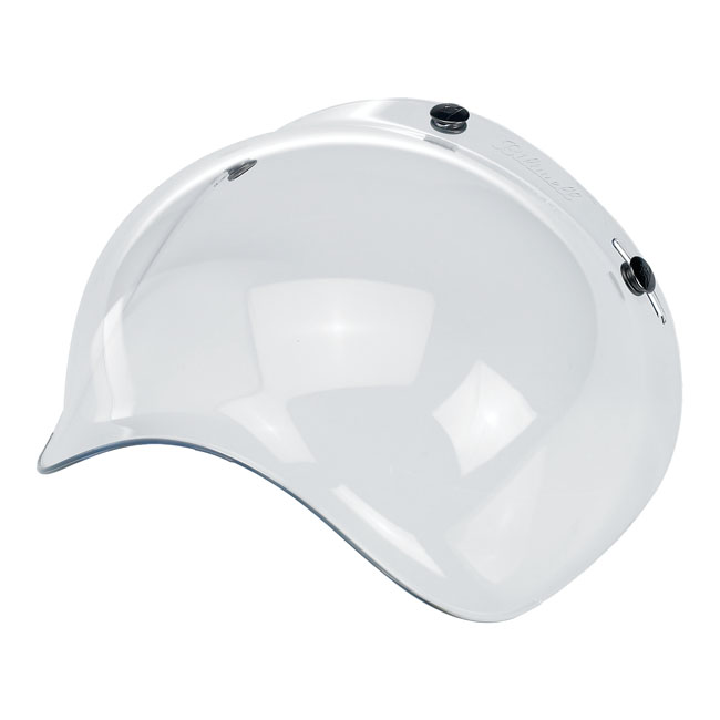 BILTWELL BUBBLE VISOR, CLEAR