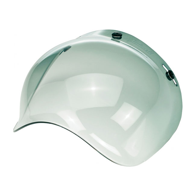 BILTWELL BUBBLE VISOR, GREEN GRADIENT
