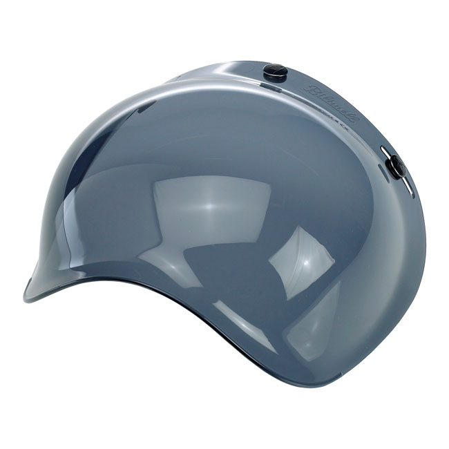 BILTWELL BUBBLE VISOR, SMOKE