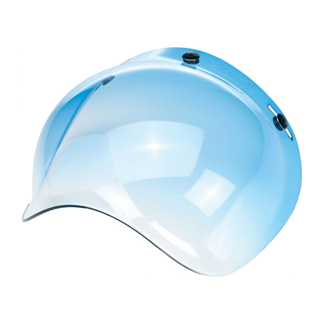 BILTWELL BUBBLE VISOR, BLUE GRADIENT
