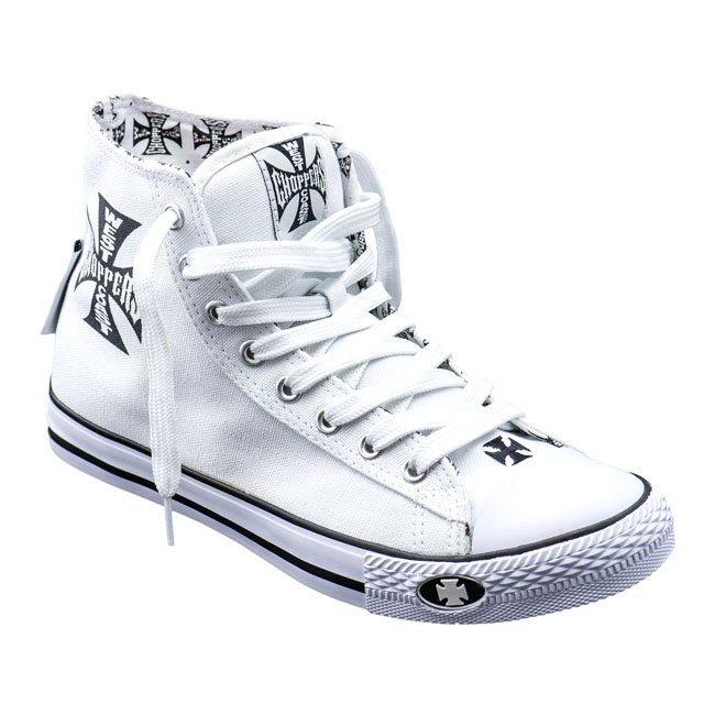 WCC WARRIOR HI-TOPS SHOES WHITE