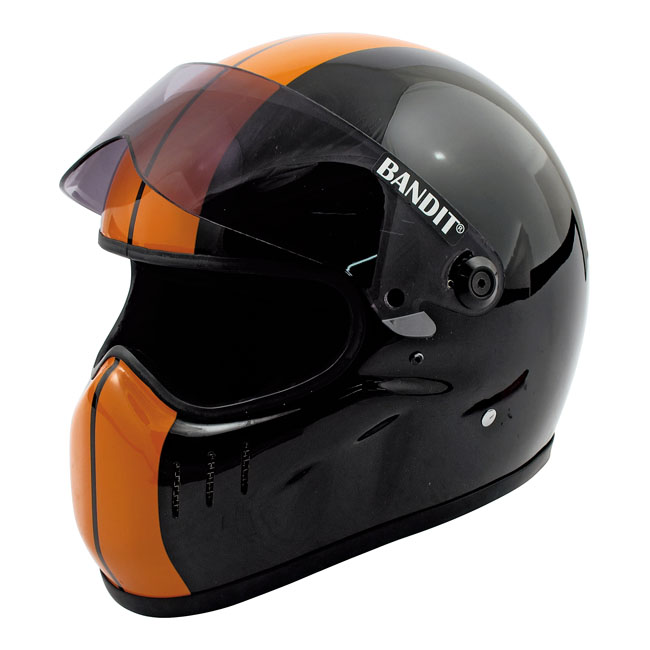 BANDIT XXR HELMET, BLACK/ORANGE
