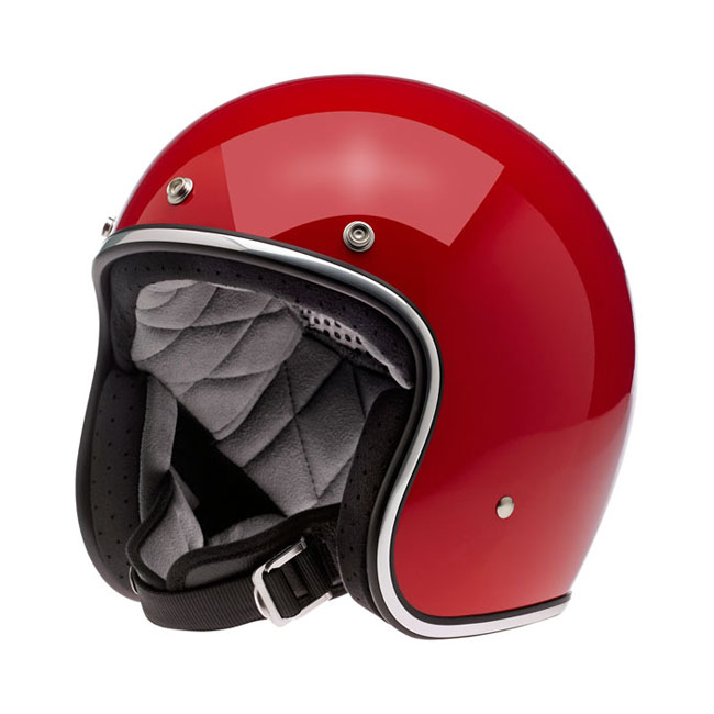 BILTWELL BONANZA HELMET GLOSS BLOOD RED