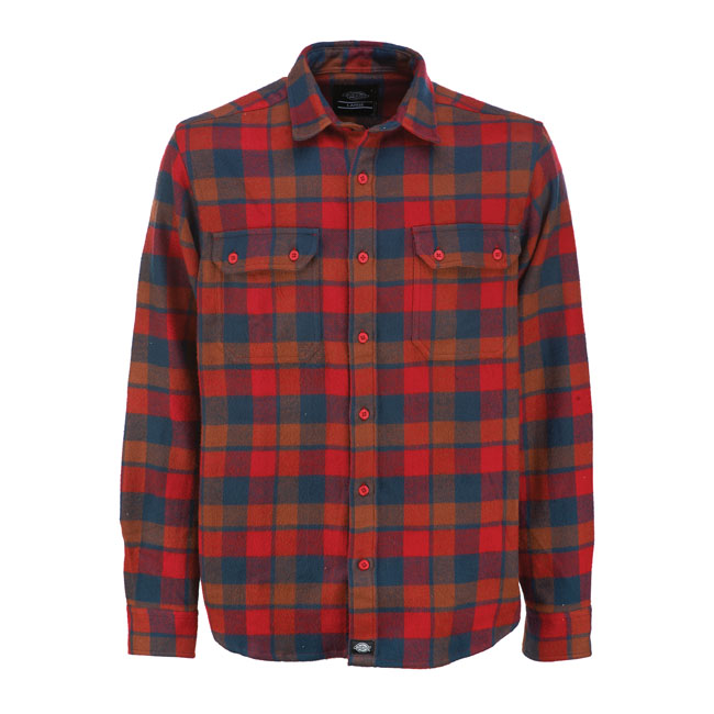 DICKIES COOPERSTOWN SHIRT RED