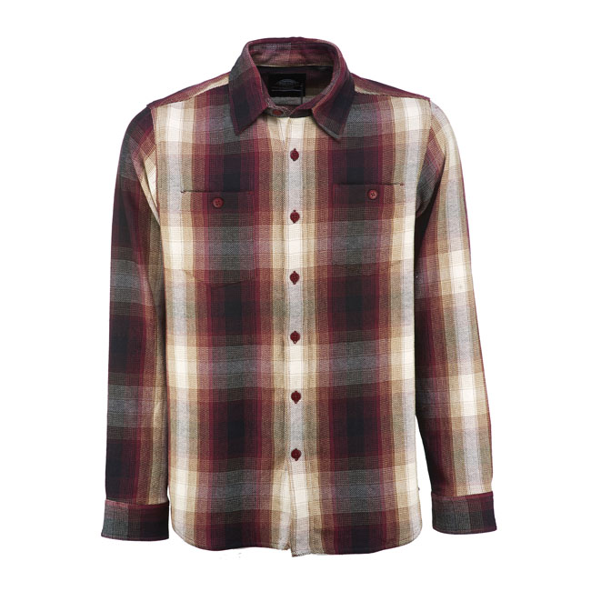 DICKIES PARKESBURG SHIRT MAROON
