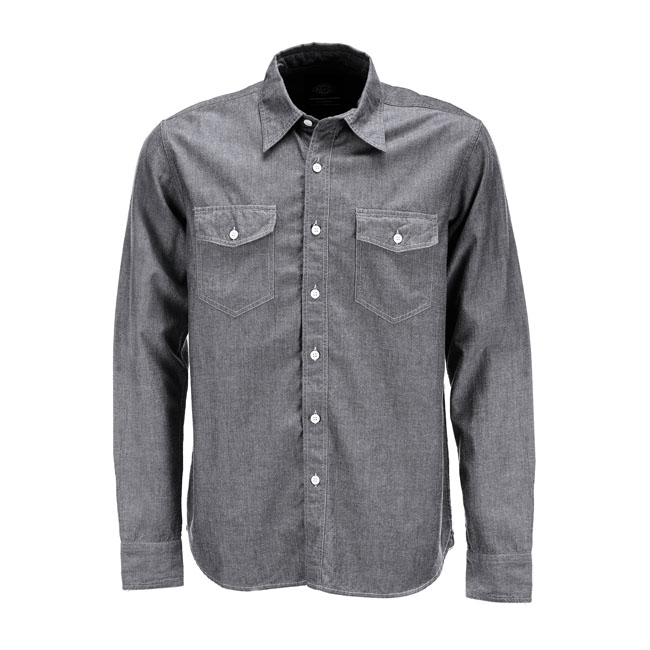 DICKIES HALLSTEAD SHIRT GREY