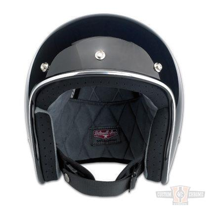 Casque Biltwell Gloss Black Bonanza