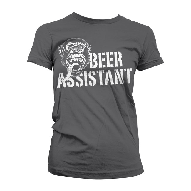 GMG Beer assistant girly t-shirt