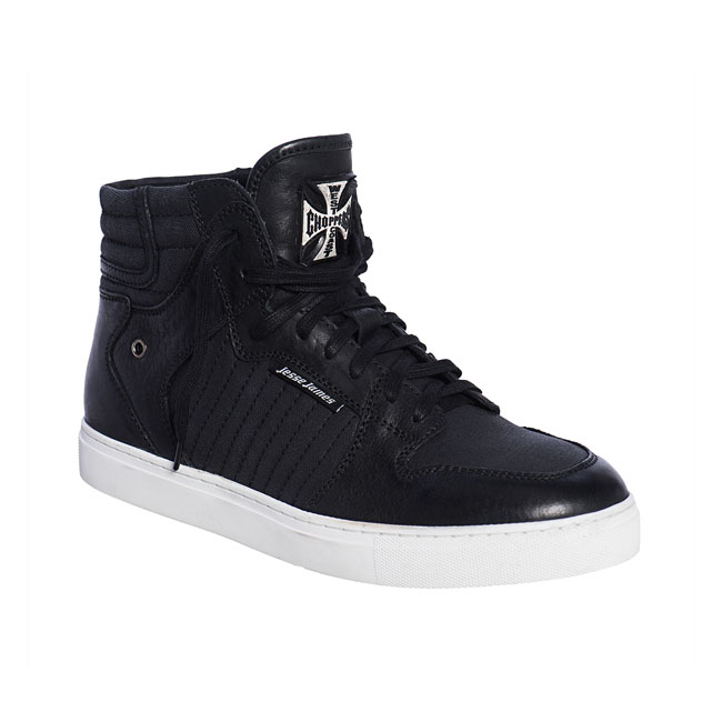 WCC Diablo leather sneaker black