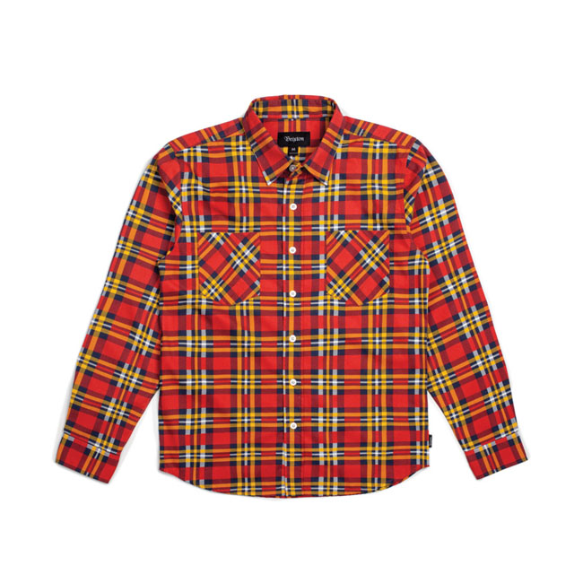 BENNETT LONGSLEEVE RED/GOLD