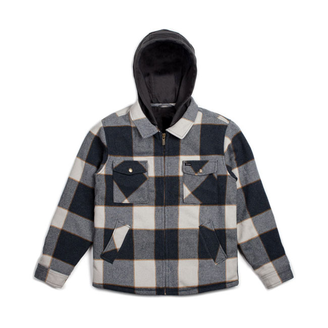 CASBURN JACKET CHARCOAL/BONE WHITE