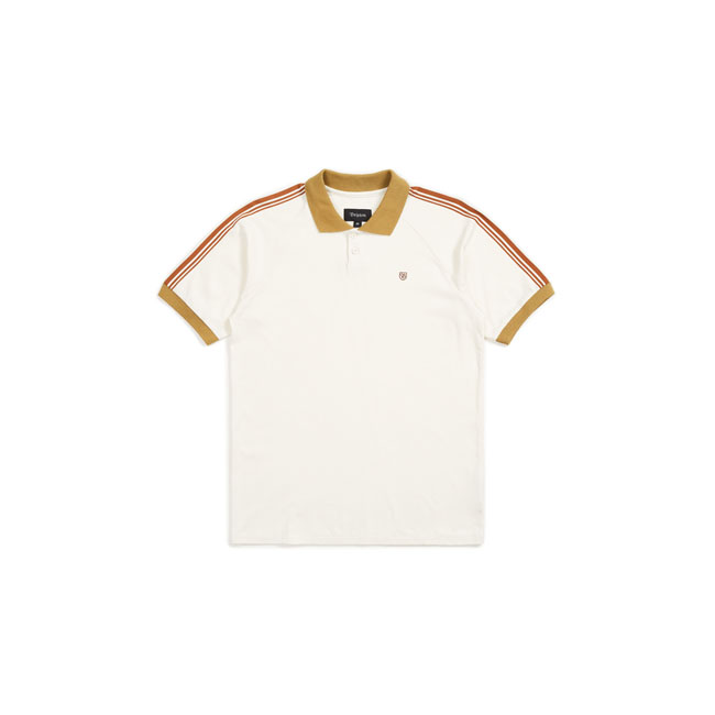polo knit cream/khaki