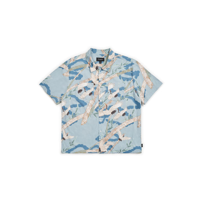 Lovitz II short sleeve shirt blue stone