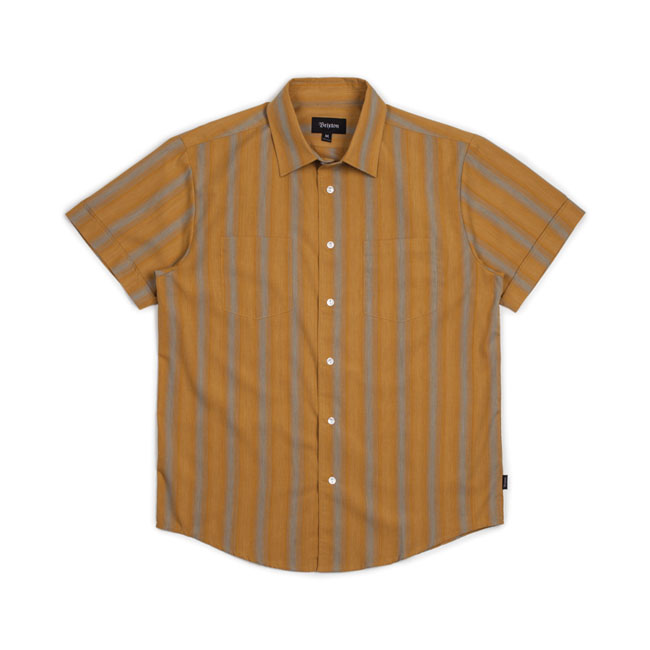 Charter woven short sleeve shirt golden