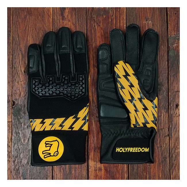 Saetta gloves black/yellow