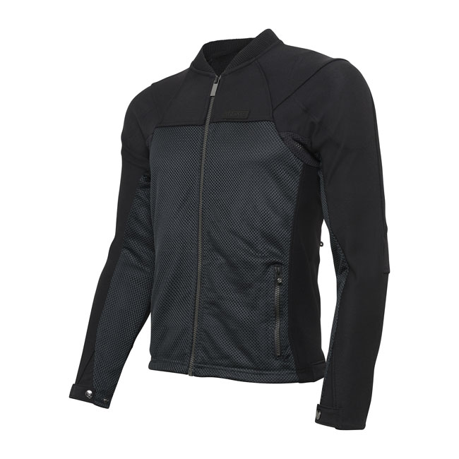 ZEPHYR PRO SUMMER MOTORCYCLE JACKET BLACK