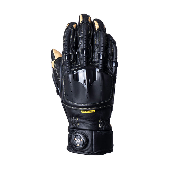 HANDROID POD MK4 ARMOURED GLOVES BLACK/SAND