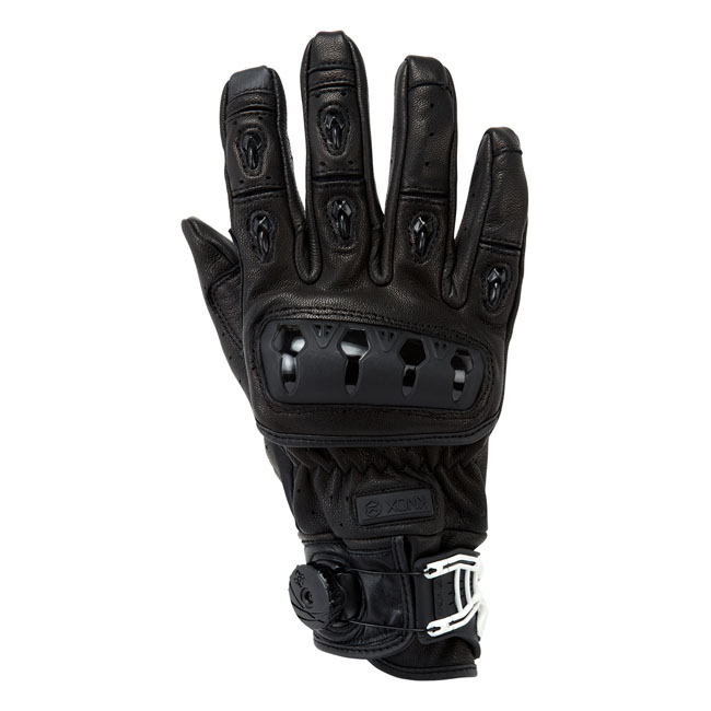 ORSA LEATHER MKII GLOVES BLACK